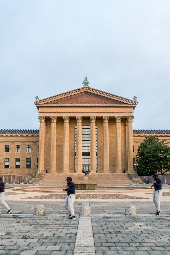 Philly Art Museum by Kelly Kiernan