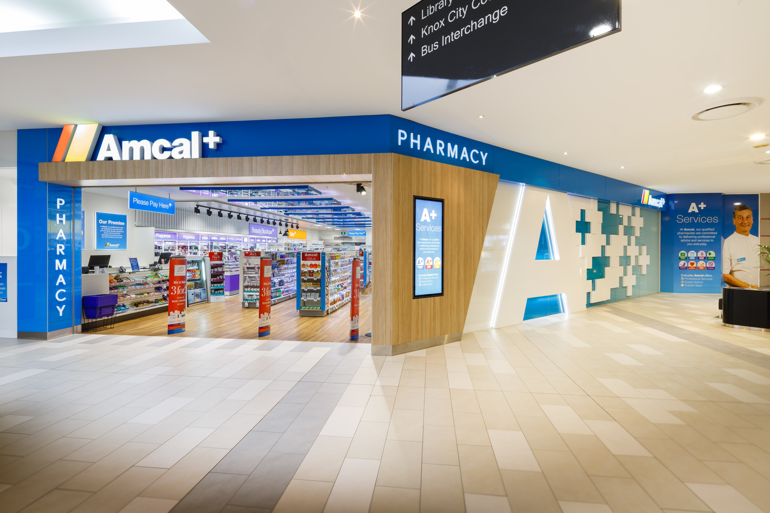 Pharmacy flagship store by Roger Thompson