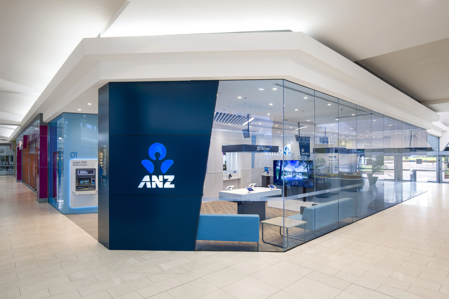 ANZ bank 1 by Roger Thompson