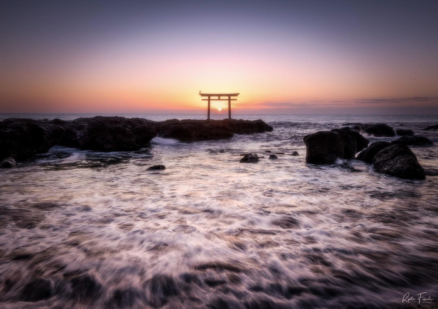 First sunrise by Ryota Fukuda