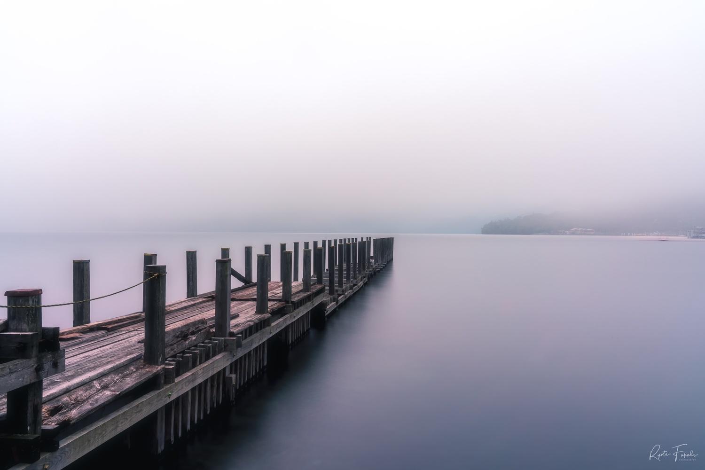 The lake by Ryota Fukuda