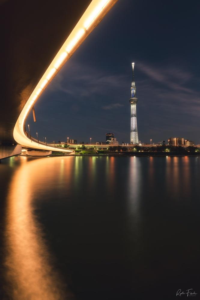 Tokyo night by Ryota Fukuda