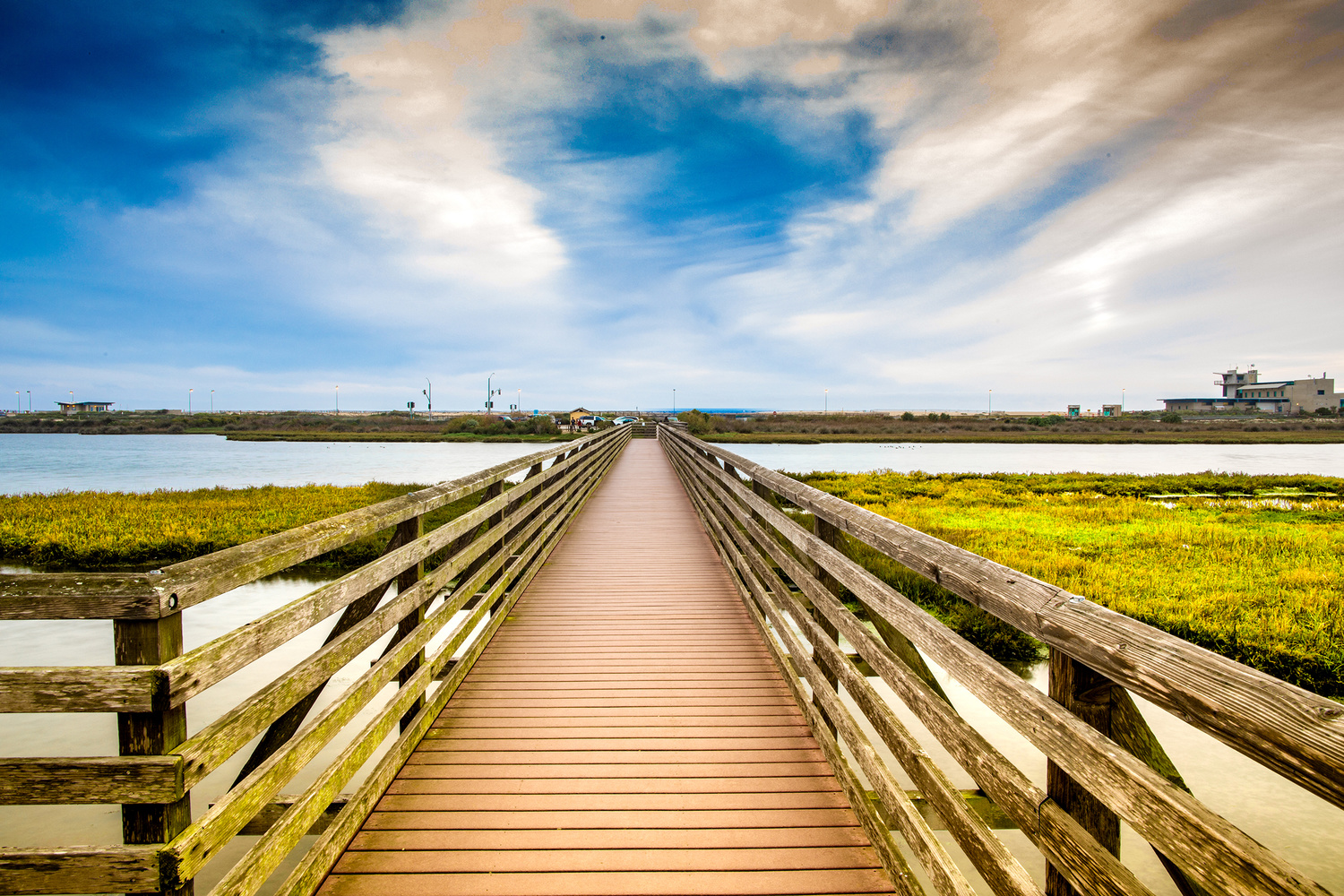 Walkway to the Beach by Arvind Vallabh