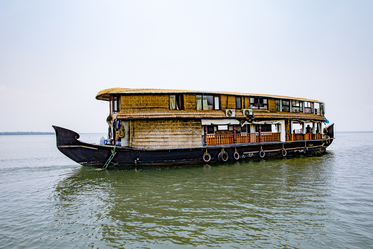 Tourist Boat by Arvind Vallabh