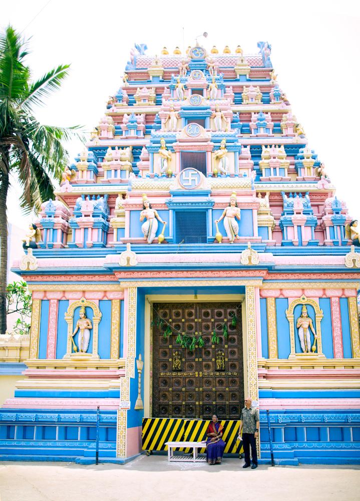 Sai Temple Entrance by Arvind Vallabh