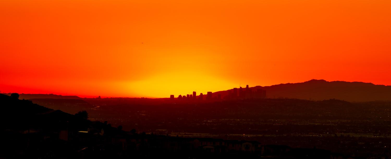 LA Sunset by Arvind Vallabh