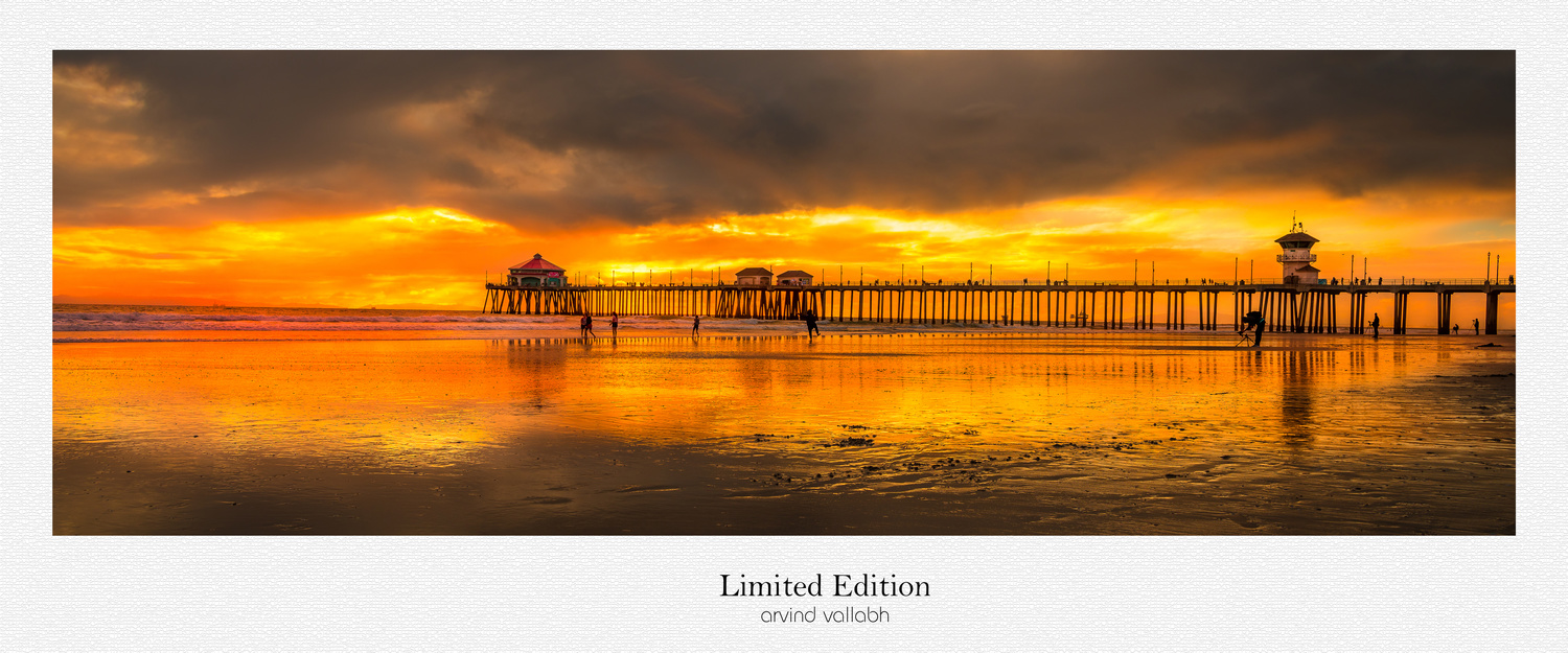 Sunset of Pier by Arvind Vallabh