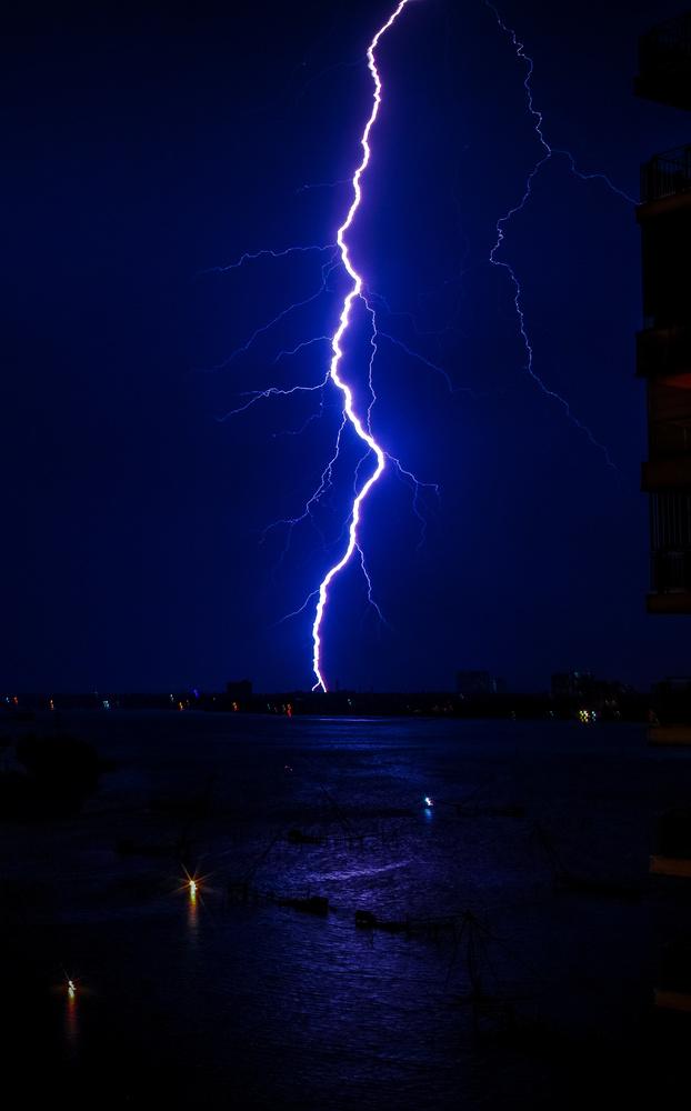 Lightning Strike by Arvind Vallabh