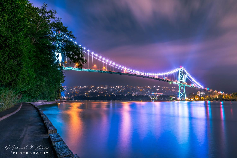 Bridge Over Calm Waters by Manuel Estacio