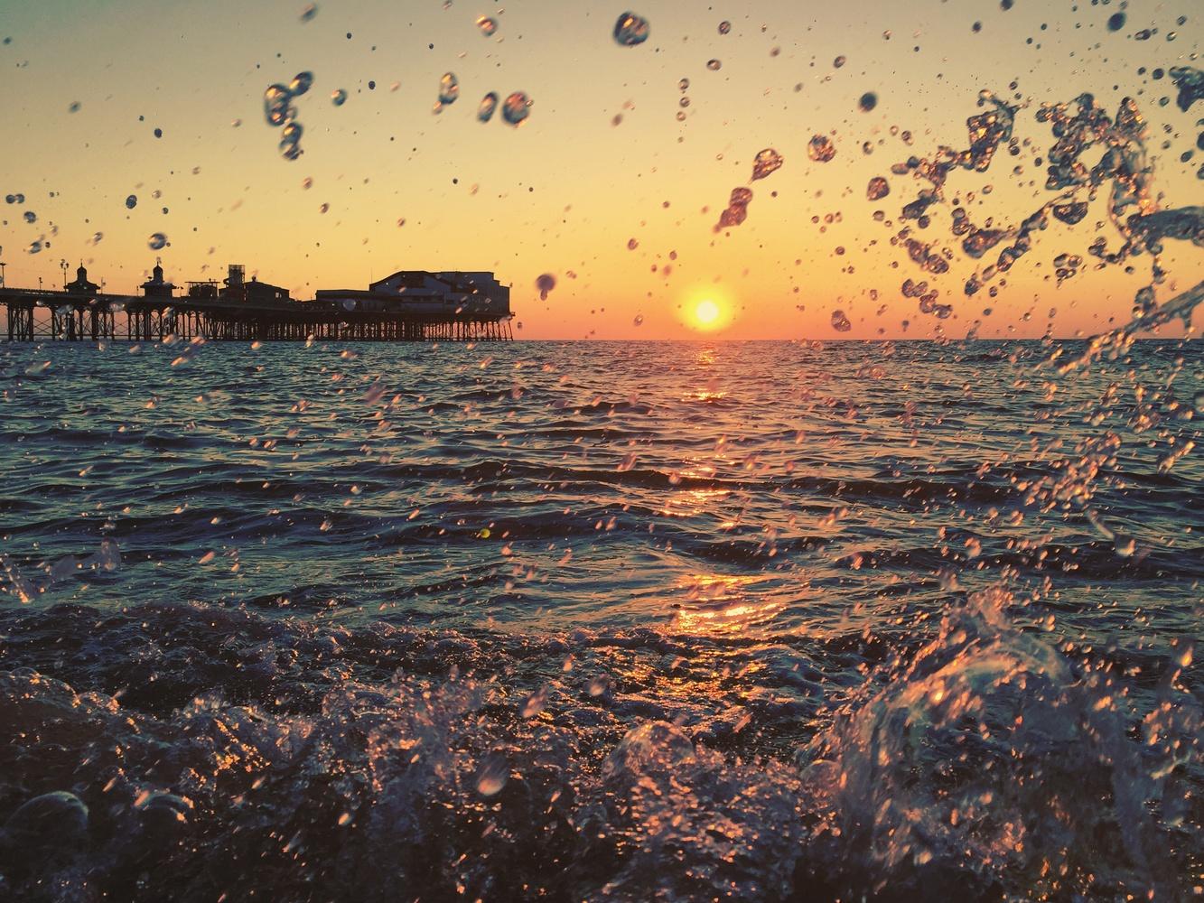 Sunset Spray by Sue DeNym
