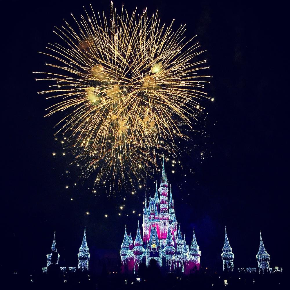 Fireworks Over Disney by Sue DeNym