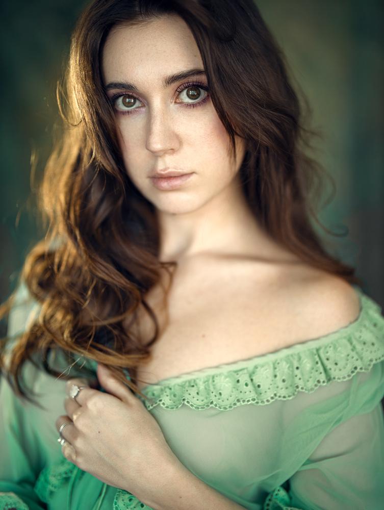 Irene (self-portrait) by Irene Rudnyk
