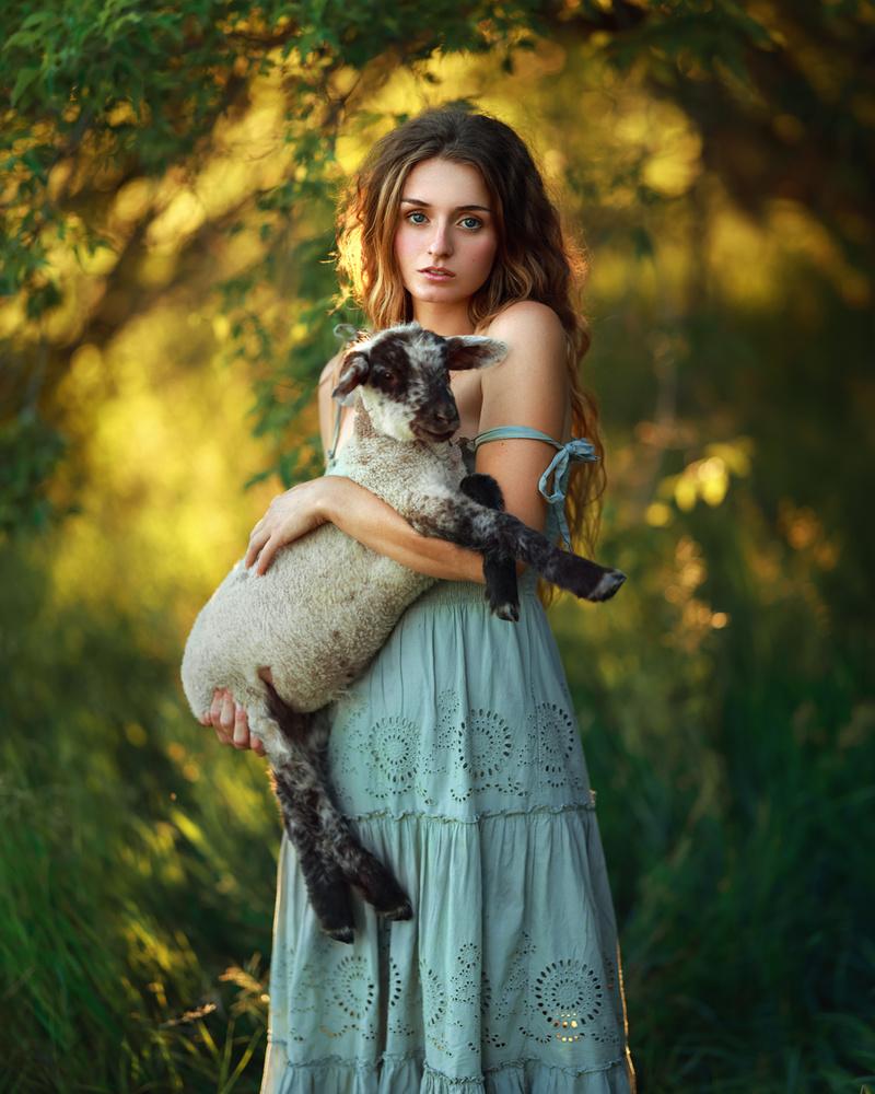 Emily and Chester by Irene Rudnyk