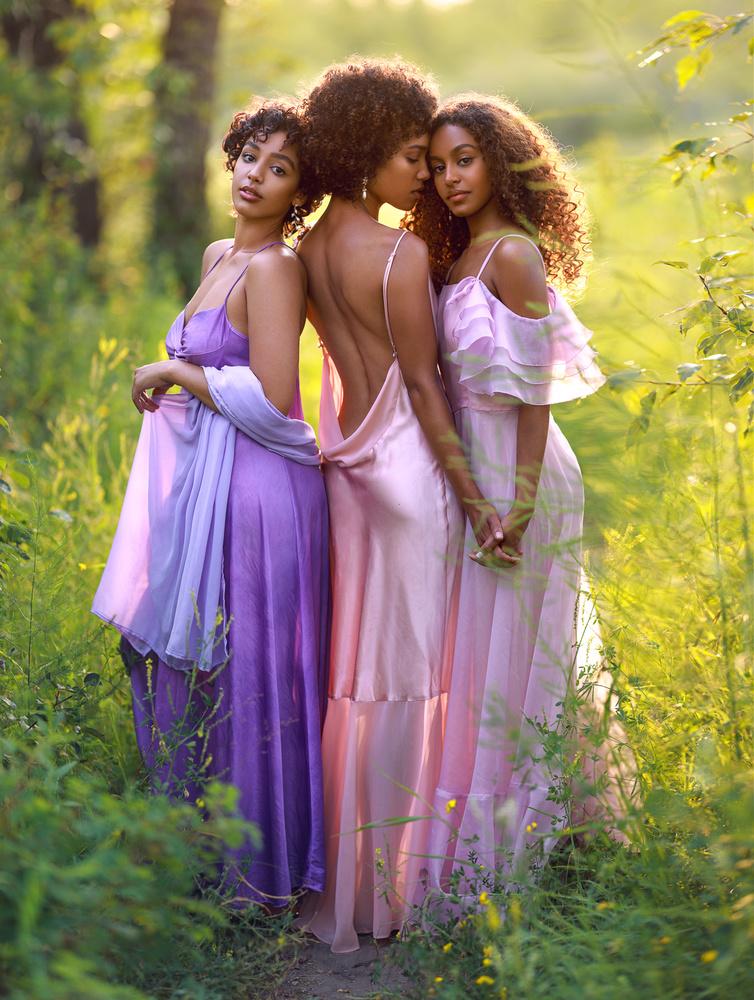 Bree, Aleesha and Nardie by Irene Rudnyk