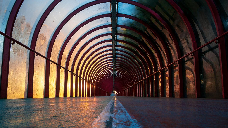 Glasgow Tunnel by Robert Gree