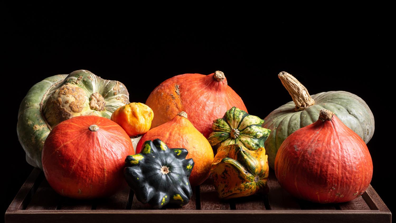 Moody Pumpkins by Robert Gree