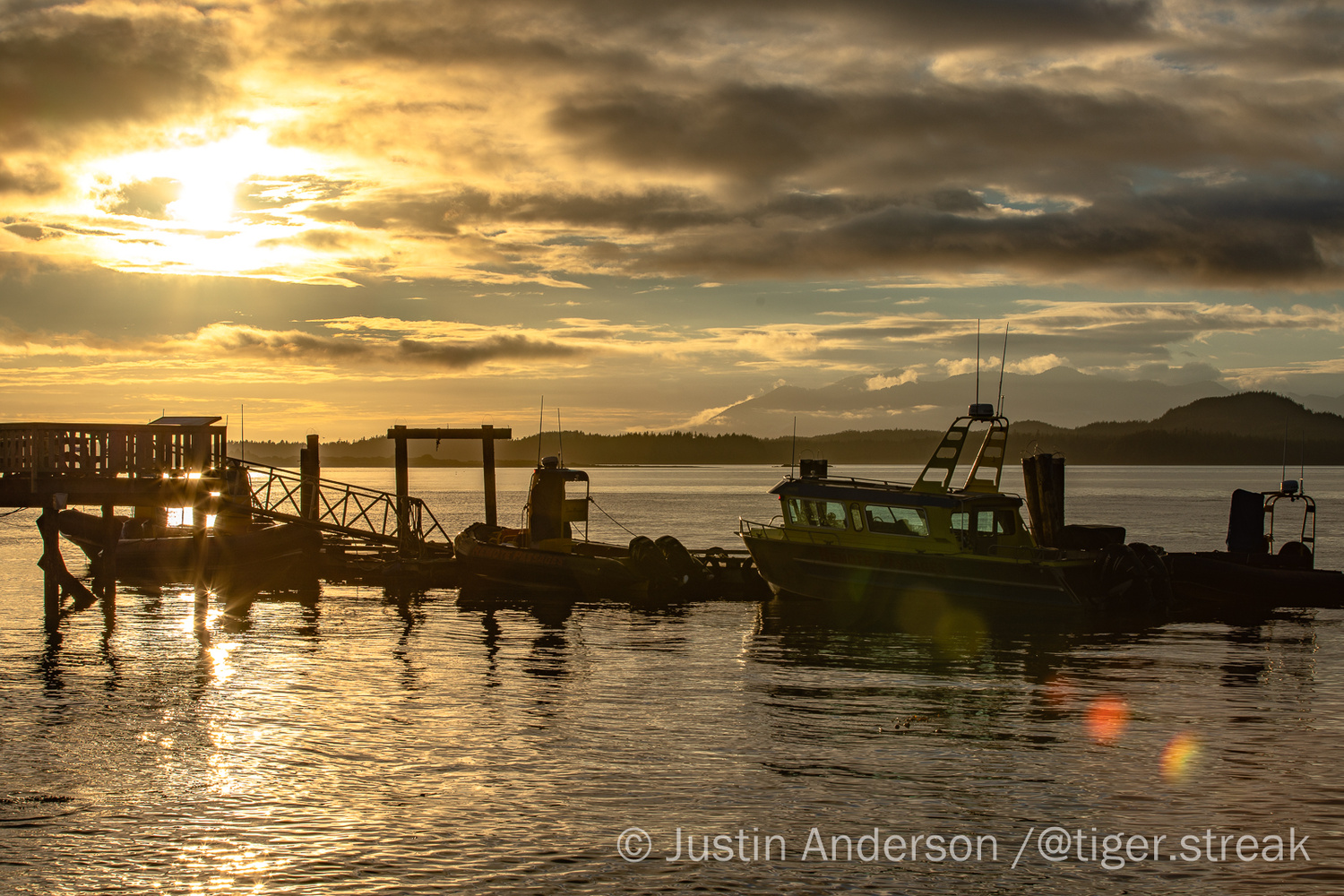 End of a fishing day by Justin Anderson