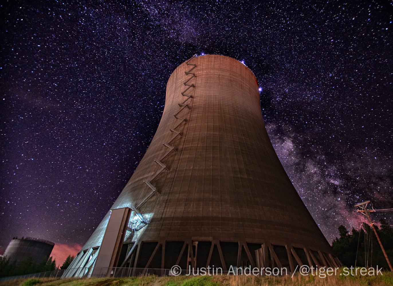 Nuclear Milky Way by Justin Anderson