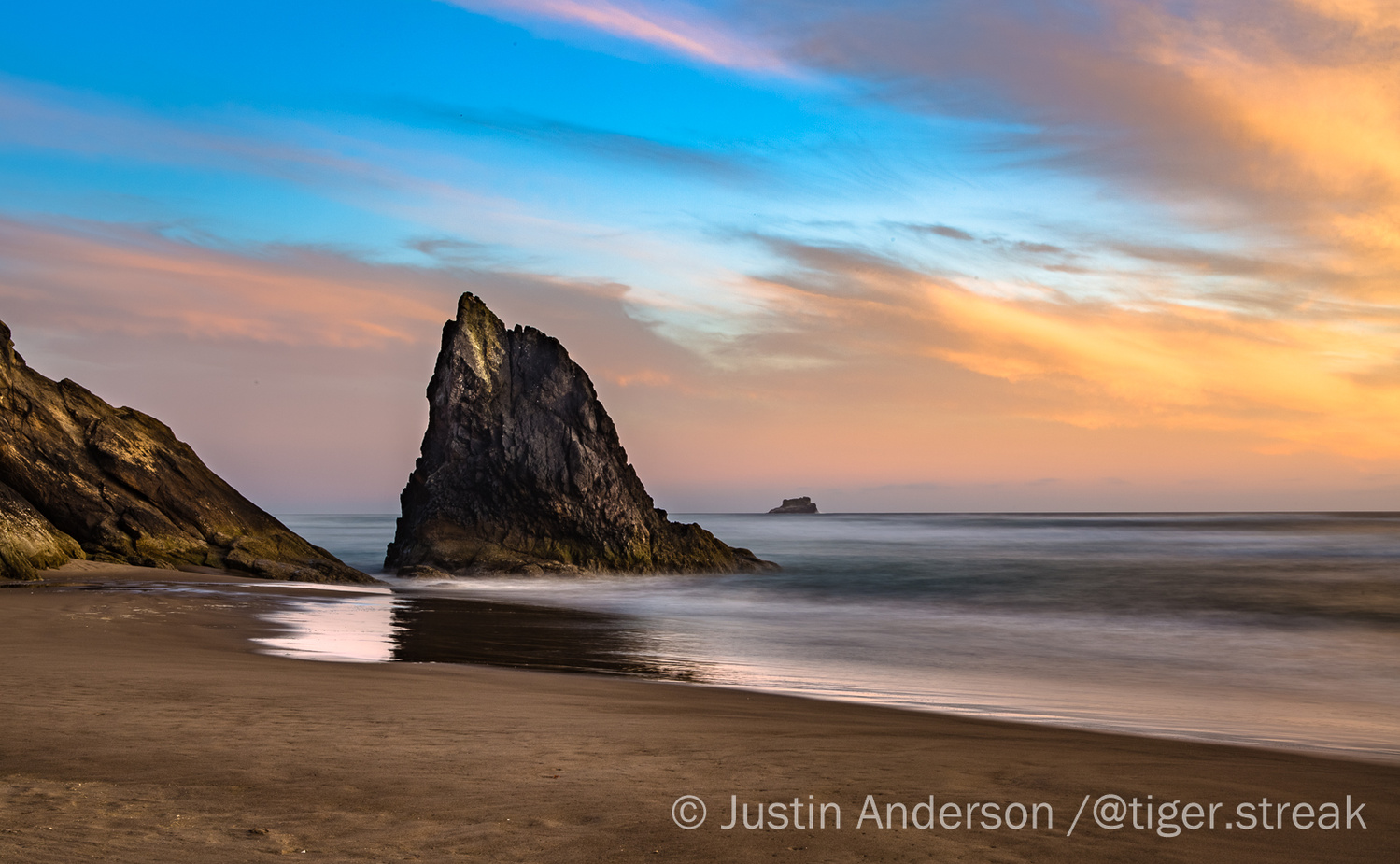 Painted Sunset by Justin Anderson