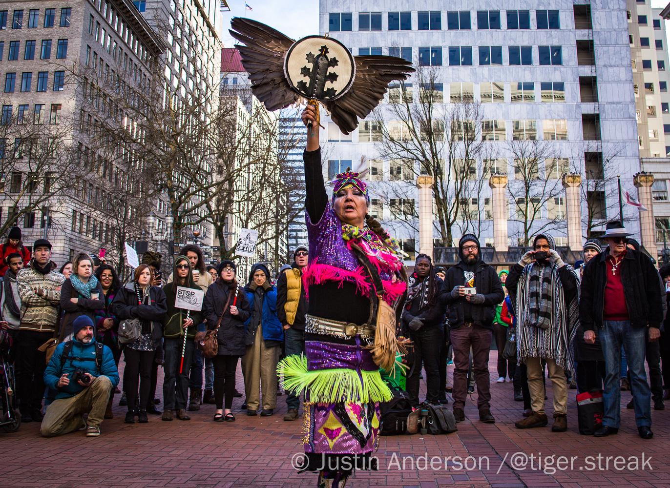 Native Solidarity by Justin Anderson