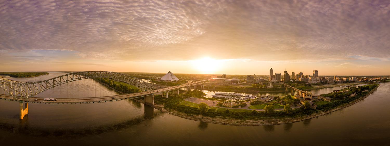 Memphis Sunrise by Peter Barta