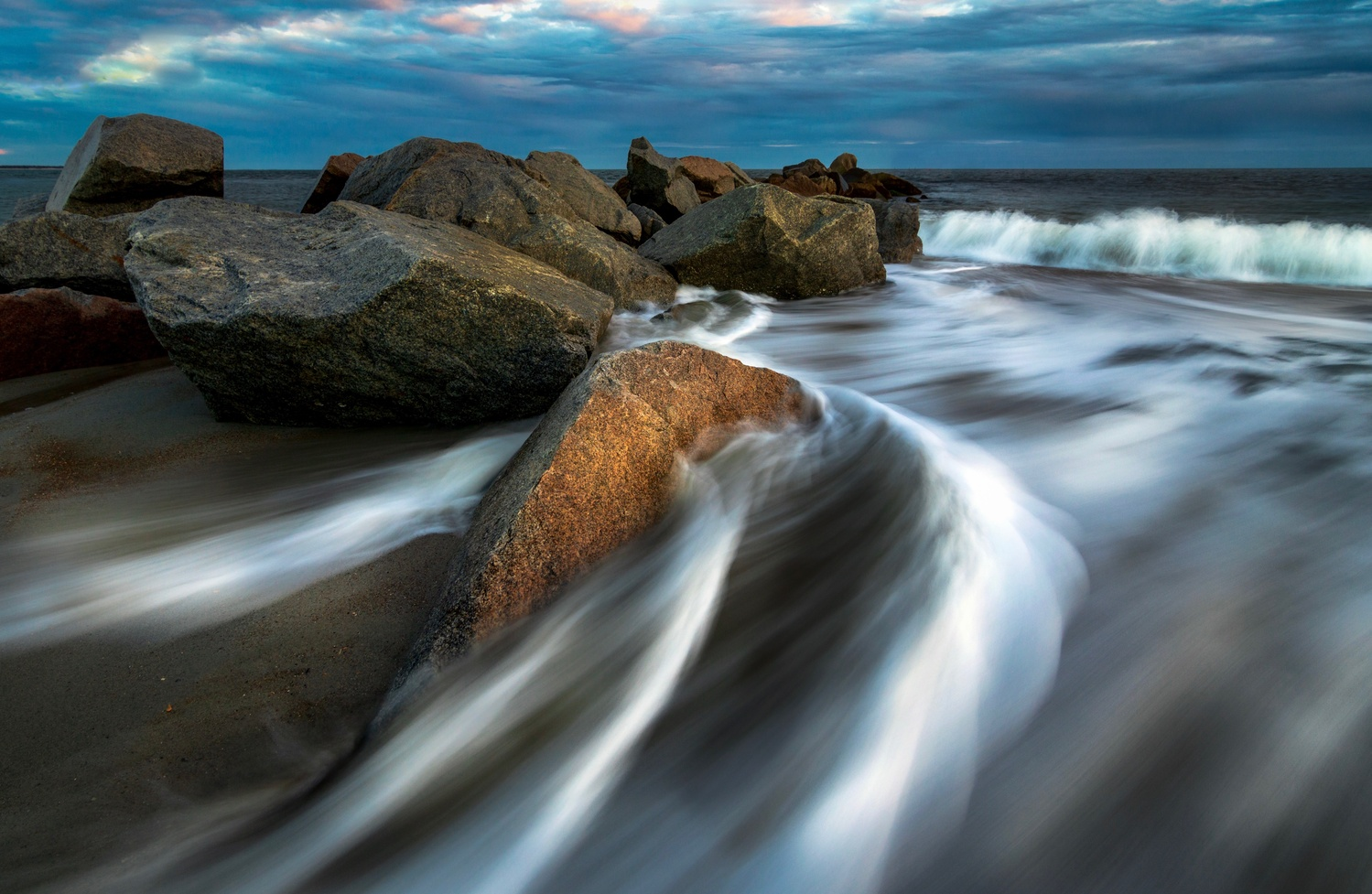 Rocks and Water by Kyle Foreman