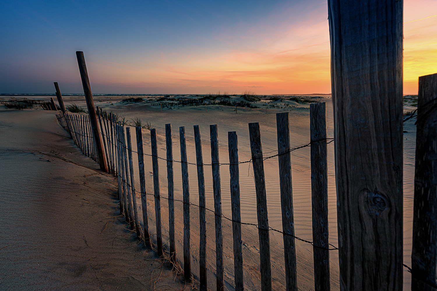 Beach Fence by Kyle Foreman