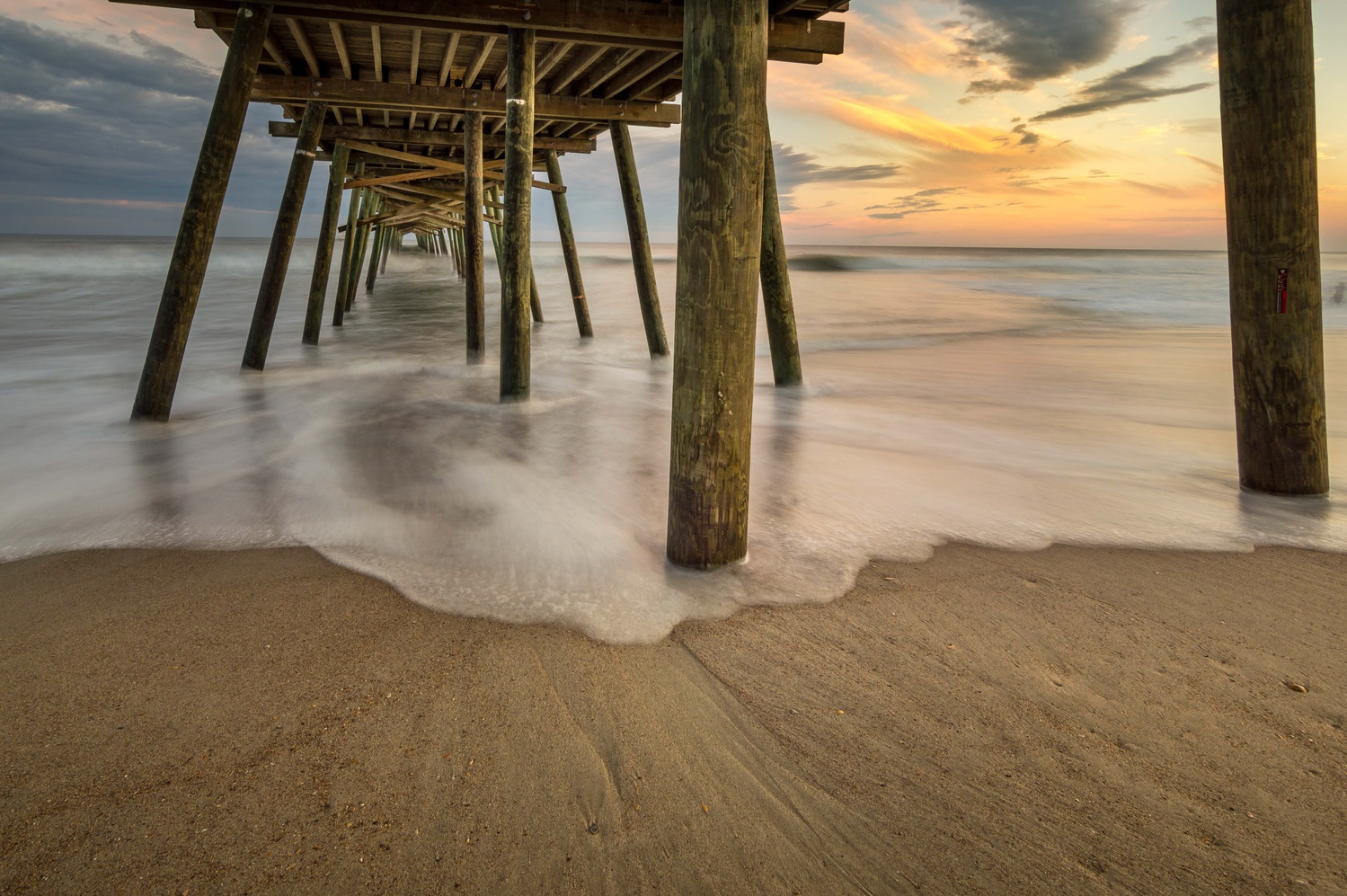 Bogue Inlet Pier by Kyle Foreman