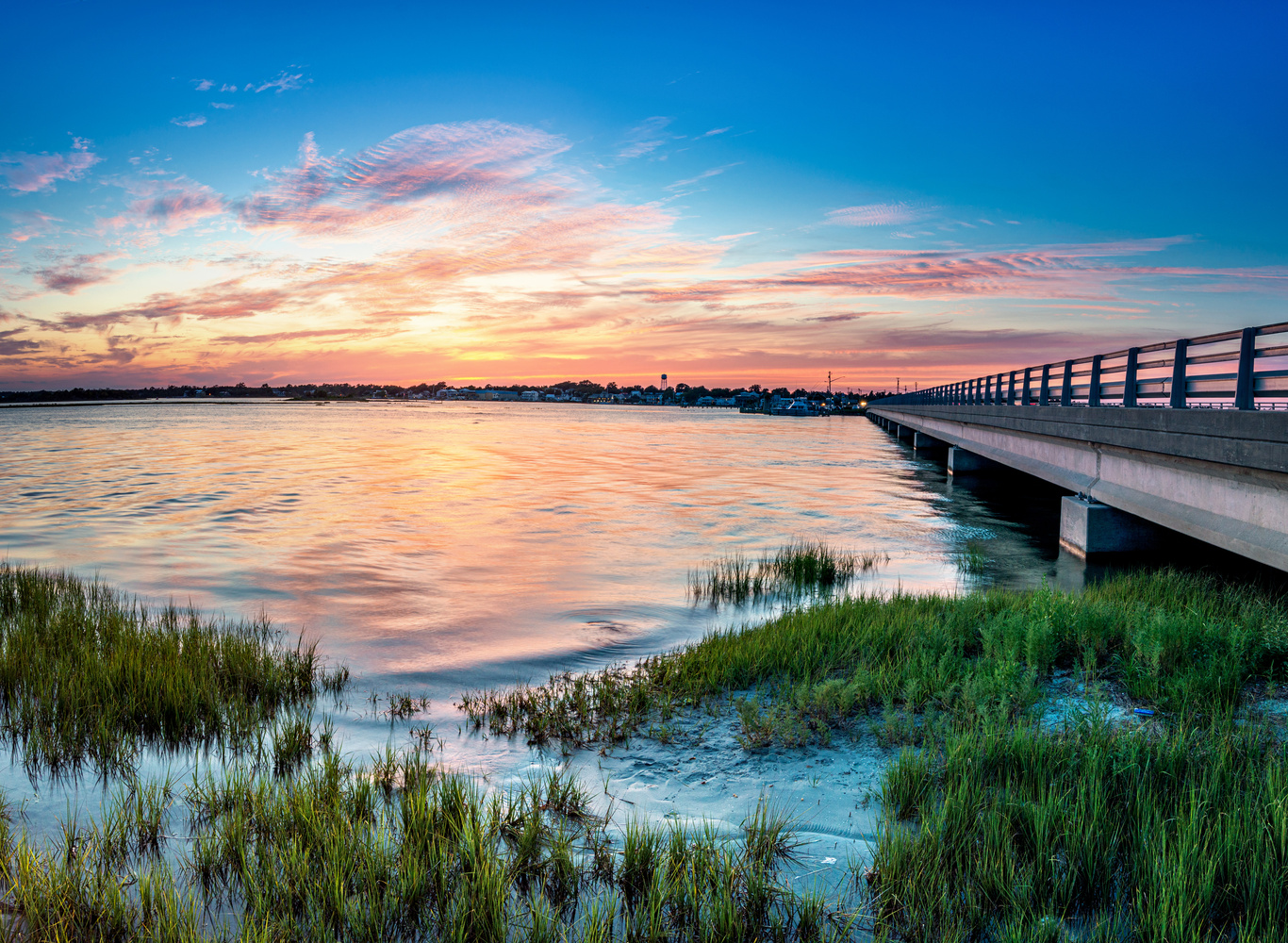Swansboro Sunset by Kyle Foreman