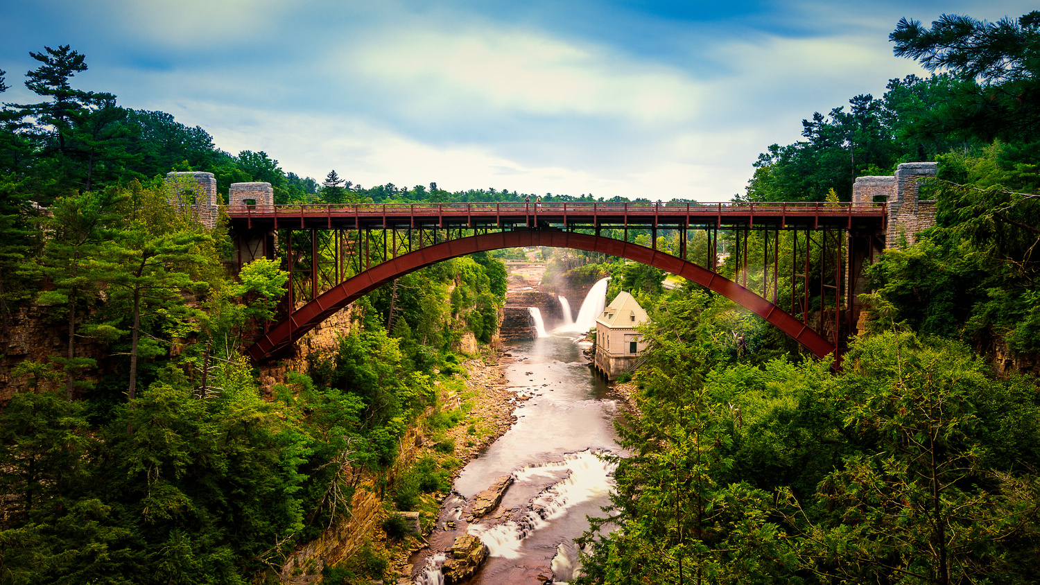 Ausable Chasm by Kyle Foreman