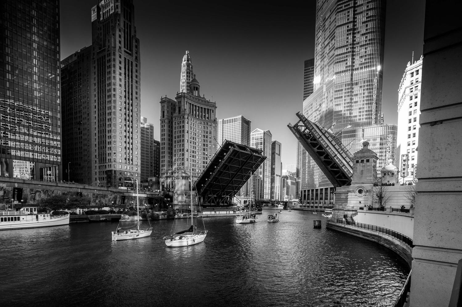 Chicago Riverwalk by Kyle Foreman