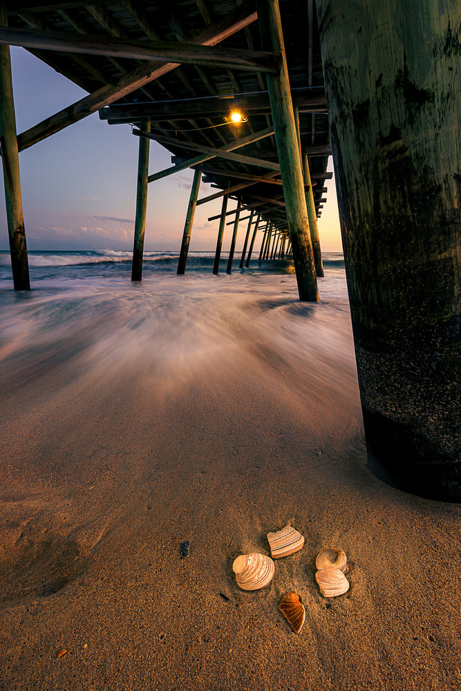 Pier and Shells by Kyle Foreman