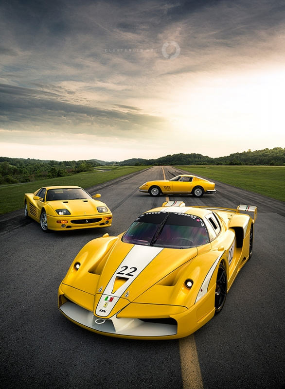 The Bachman Ferrari Collection by Clint Davis