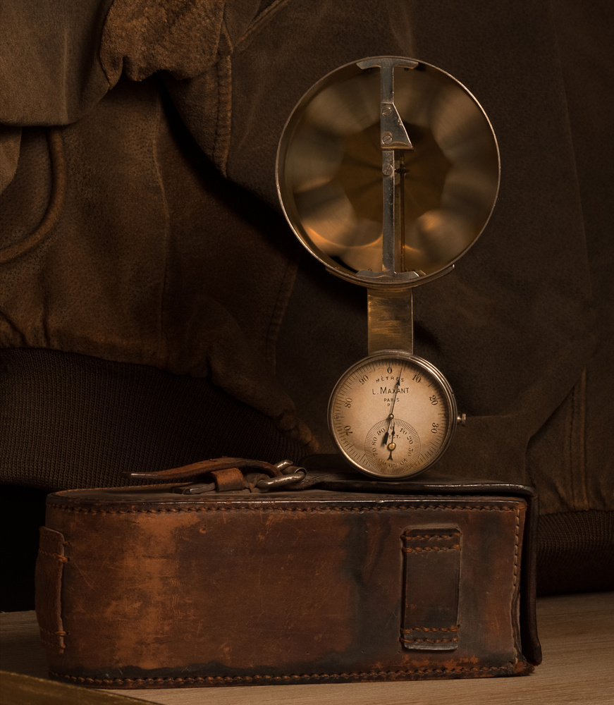 wright-brothers era anemometer by Dick Blystone