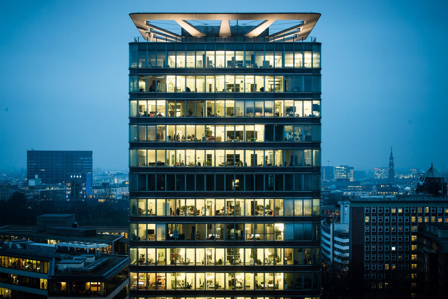 Hamburg building by Philip Erpenbeck