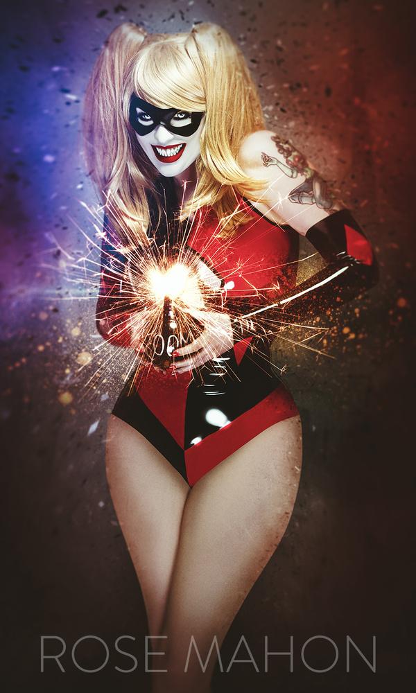 Harley Quinn by Jamie Mahon