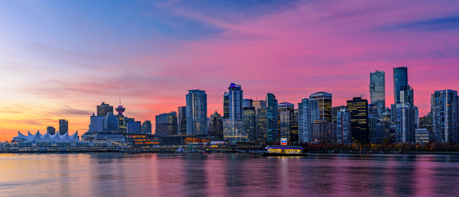 This is Vancouver: Sunrise by Jordan McChesney