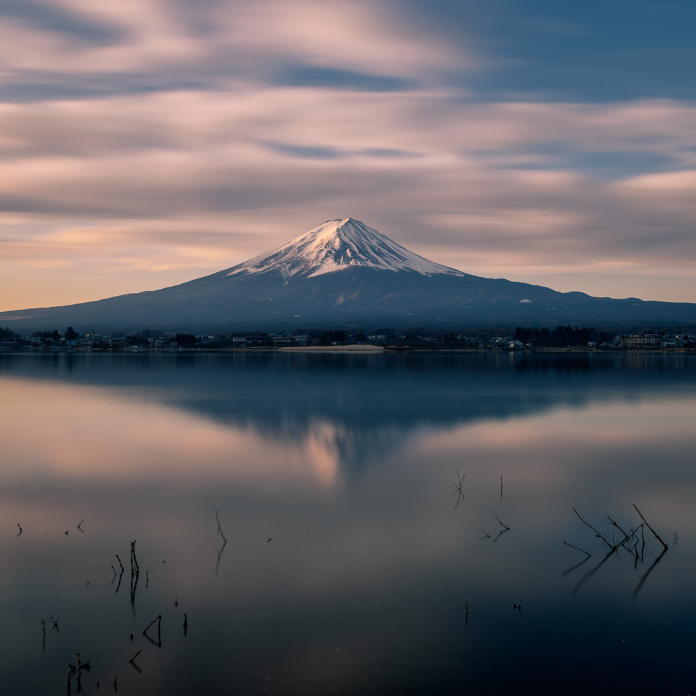Fuji by Sunrise  by Jordan McChesney