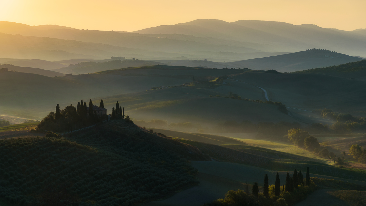 In love with Tuscany by Roberto Ruggieri