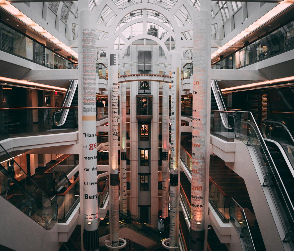 Mall of Bergen by Henrik Utne