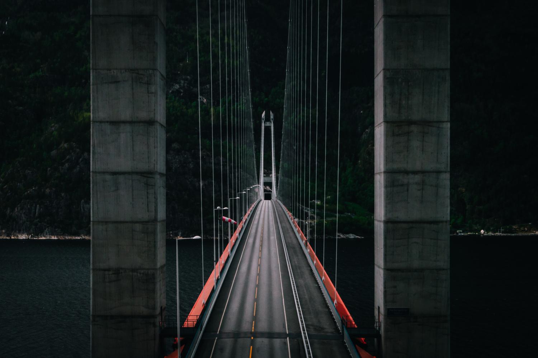 Hardanger Bridge by Henrik Utne