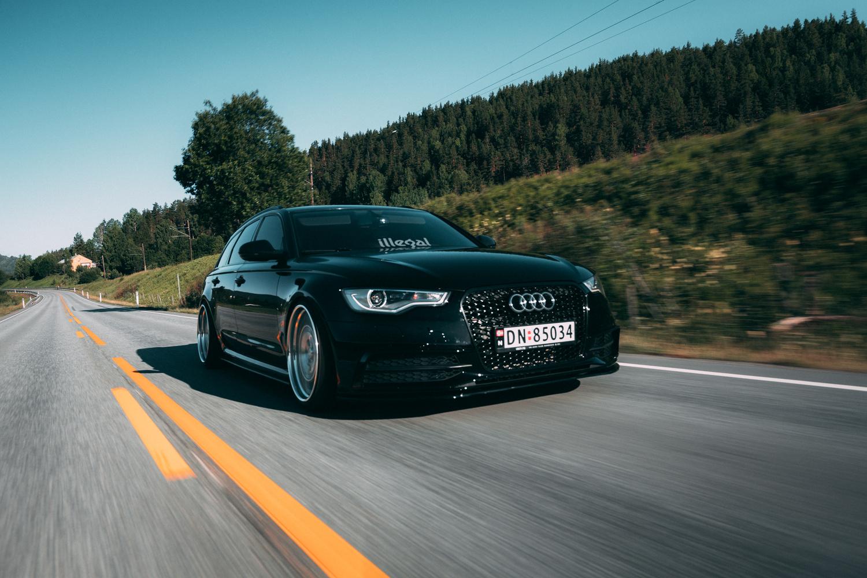 Audi A6 Rolling 1 by Henrik Utne