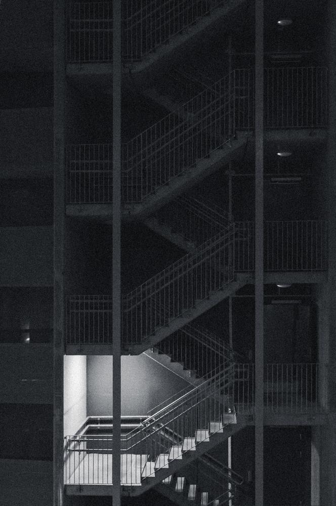 The stairway by Henrik Utne