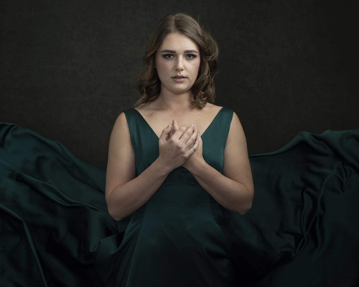 Emerald Dress by Lisa Pane