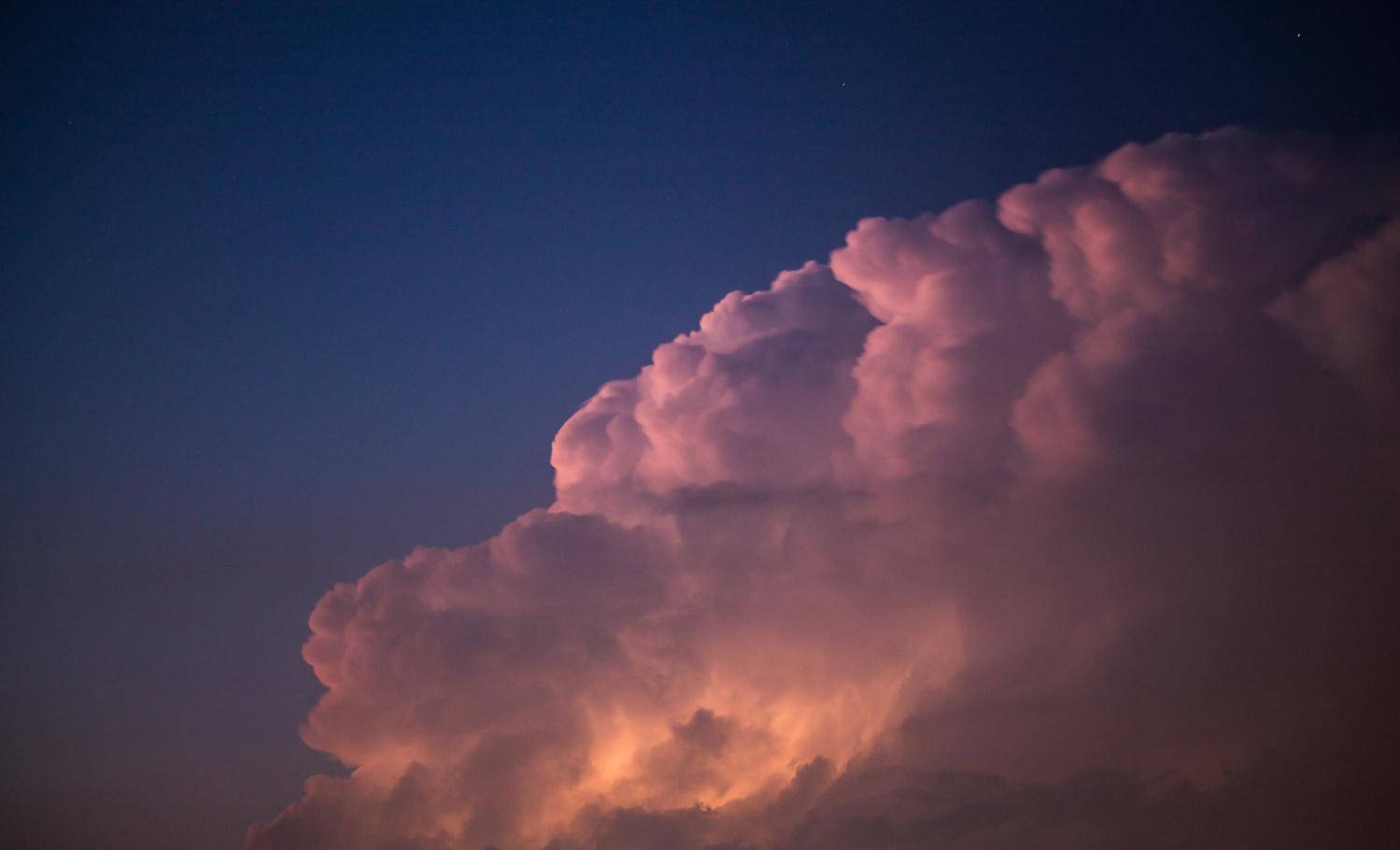 Lightening Storm by Cameron McGrath