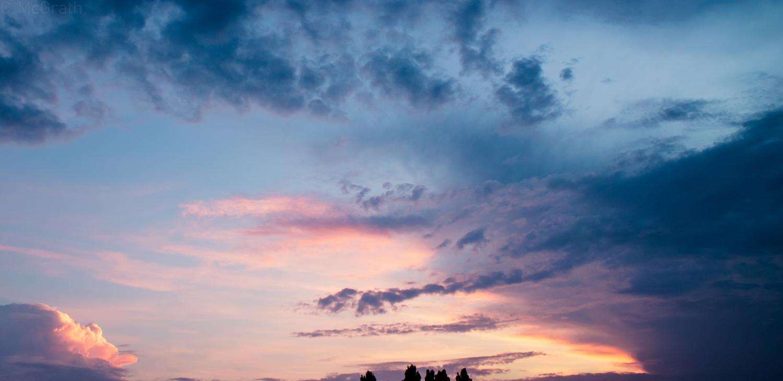 Sunset Cloud by Cameron McGrath