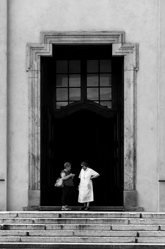 Church Entrance by Cameron McGrath
