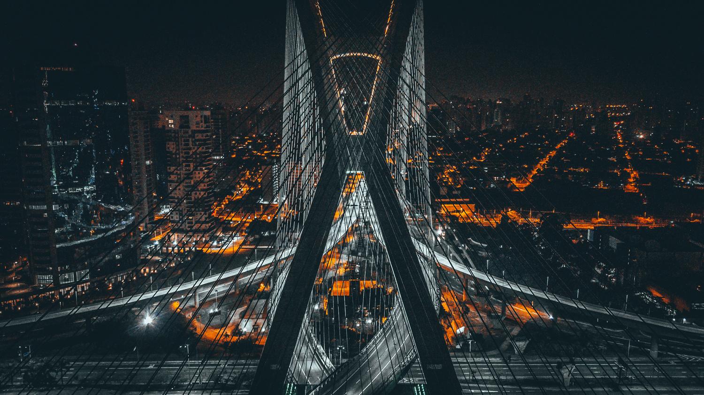 Ponte Octávio Frias de Oliveira by Cleber Portaro