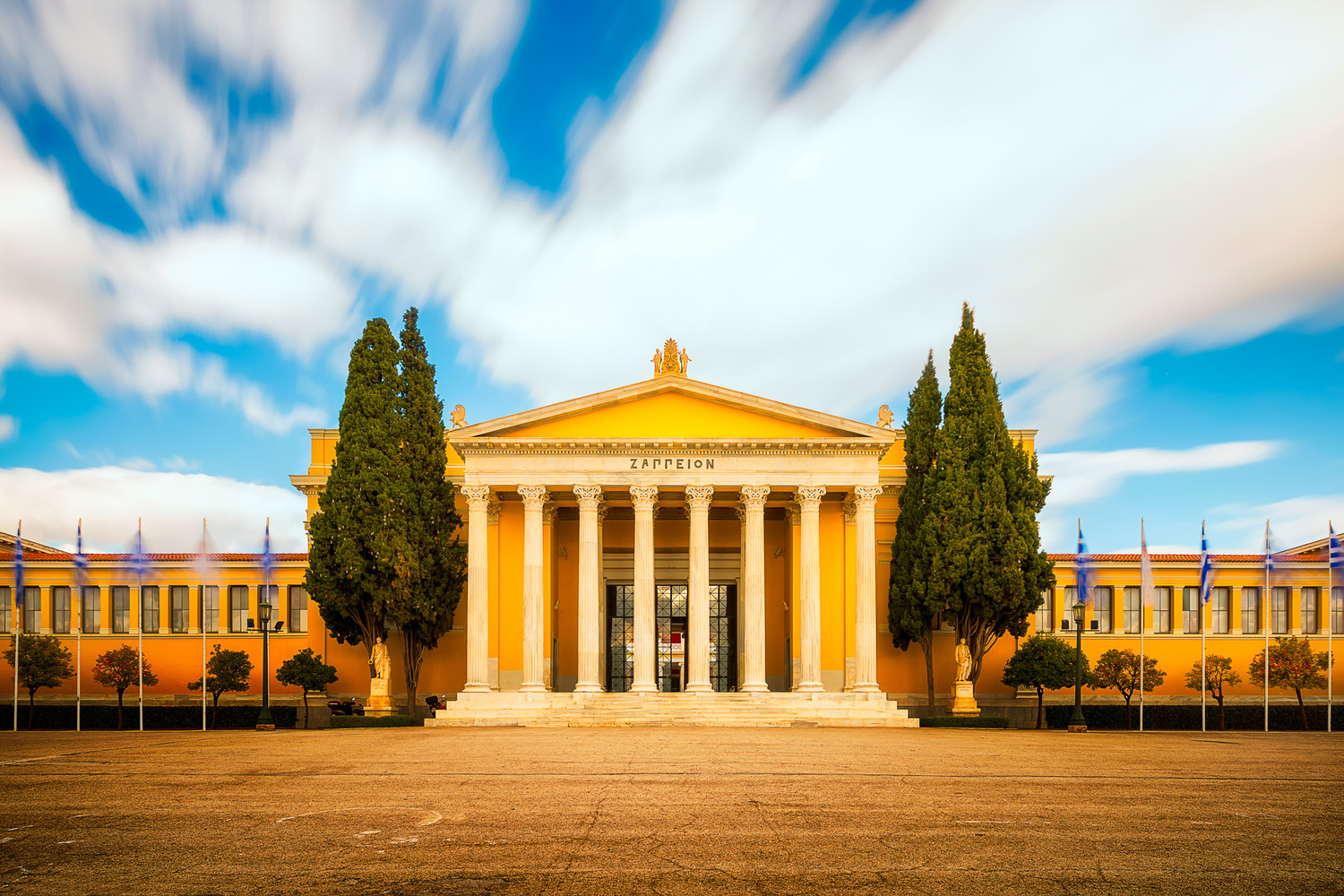 Zappeion Exhibiton Hall | Athens, Greece by Nico Trinkhaus