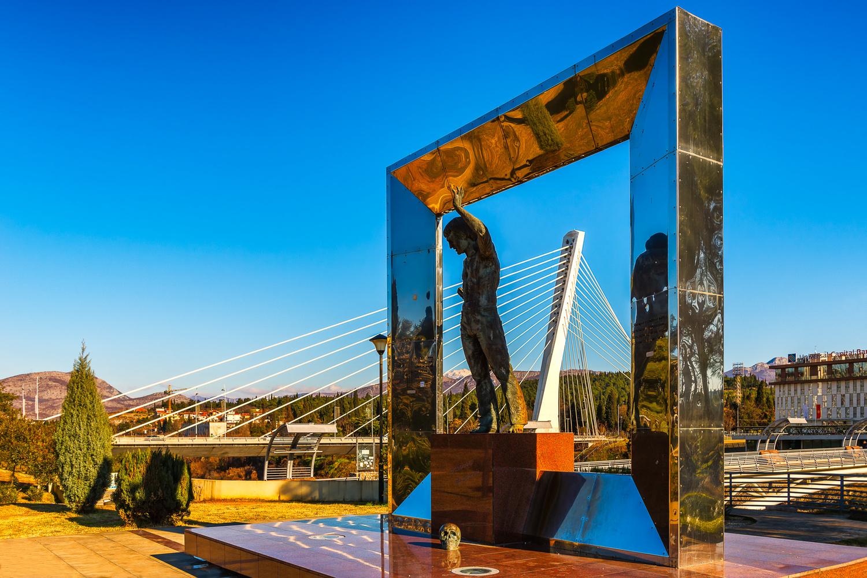 Vladimir Vysotsky Monument | Podgorica, Montenegro by Nico Trinkhaus